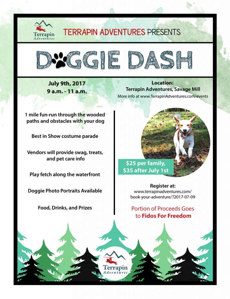 Doggie Dash Flyer 2017