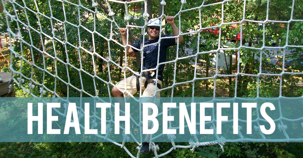 Ropes Course Health Benefits