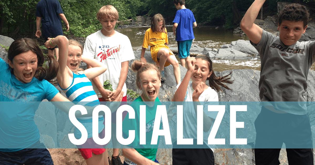 Summer Camp Socialize