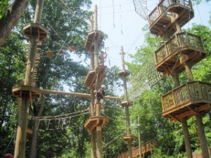 High Ropes Chalenge Course