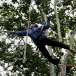 Ropes Course Jump