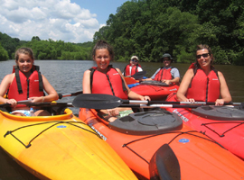 Family Kayak Tours